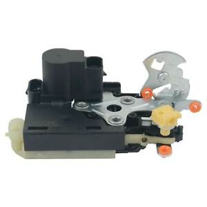 Power Door Lock Actuator w/ Latch for Chevrolet GMC Front Right w/ Keyless Entry