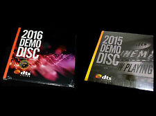 2 Demo Discs -  DTS X,7.1 Demo 19 & 20 Genuine Blu Ray Disc CES 2015&2016 Sealed