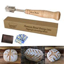 Nożyk do nacinania chleba, bagietek i bułek.