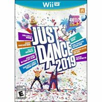Just Dance 2019 (Nintendo Wii U) Brand New Factory Sealed (Newest title)