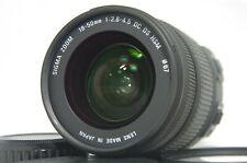 Sigma DC 18-50mm f/2.8-4.5 HSM OS AF Zoom Lens SN10009112 for Pentax K Mount
