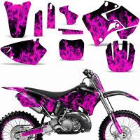 Graphics Kit Yamaha YZ125 YZ250 MX Dirt Bike YZ 125/250 Backgrounds 96-01 ICE P