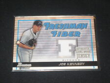 JOE KENNEDY DEVIL RAYS STAR CERTIFIED AUTHENTIC BASEBALL GAME USED JERSEY CARD