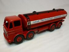 DINKY TOYS 943 LEYLAND OCTOPUS FUEL TANKER - ESSO PETROLEUM - RED 1:50? - RARE