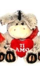 + CUCCIOLO CON CUORE MORBIDO PELUCHE REGALO S. VALENTINO LOVE TI AMO