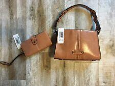 Simply Noelle Tan (Whisky) Crossbody Purse/handbag with credit card Holder -NWT