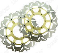 Front Brake Disc Rotor Rotors For Honda CBR600 F4i 2001-2006 02 03 04 05 Gold