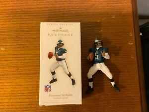 Philadelphia Eagles Donovan McNabb 2006 Hallmark Keepsake Ornament! NFL! NIB