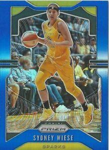 2020 WNBA PANINI * SYDNEY WIESE BLUE PRIZM * PARALLEL CARD 017/149 LA SPARKS