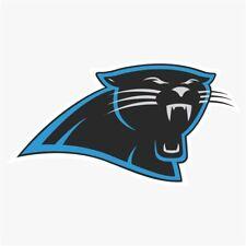 Camiseta de Jersey Carolina Panthers Nº #1 NFL Logotipo Die Cut Vinyl Decal compre 1 lleve 2 Gratis