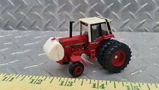 1/64 custom ERTL farm toys international ih 1086 tractor w/ front fenders & tank