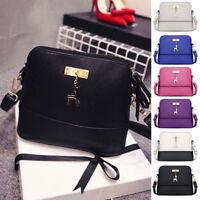 Newest Lady PU Leather Shoulder Bag Satchel Crossbody Tote Handbag Messenger Bag