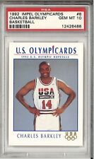 PSA 10 CHARLES BARKLEY 1992 IMPEL OLYMPICARDS USA DREAM TEAM #8 GEM MINT HOF