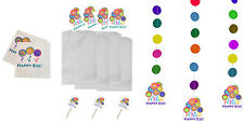 Happy Eid Flower Party (Deluxe Party Pack) Islamic Muslim Holiday Decoration