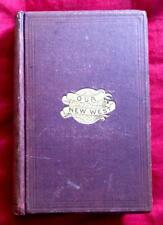 RARE 1870 WESTERN TOURIST GUIDE OLD WEST INDIANS PACIFIC RAILROAD MORMONS STAGE