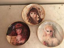 Vintage Franklin Mint Hanau Doll Museum Plates Brigitte, Colette & Sophie (3)