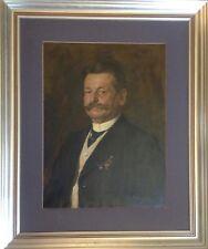 Jonas Julius Klaber 1872° Portrait de Carl Vogt ° Vieux Homme Historique