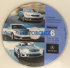 2002 2003 2004 Mercedes Benz SL600 SL500 SL55 Navigation CD #6 Ohio-Valley Map