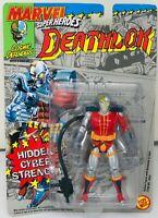 ToyBiz DEATHLOK 1992 Cosmic Defenders CYBER STRENGTH Action Figure MARVEL 92 NEW