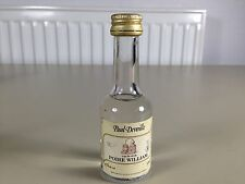 Mignonnette minibottle paul devoille eau de vie poire william