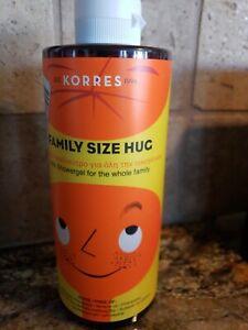 KORRES FAMILY SIZE HUG KIDS SHOWER GEL FOR THE WHOLE FAMILY 13.53 OZ BODY WASH