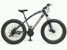 PedalEase Big Cat Fat Bike MTB Snow Beach front suspension, disc brake 21 speed