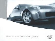 Nissan 350Z UK Accessories Brochure August 2003 10 Pages Excellent Condition
