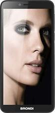 """Brondi 850 4G 1+ 8GB 5.7"""" Black Dual Sim ITA + Auricolari Smartphone Android"""