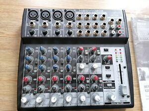 Behringer XENYX 1202 compact mixer excellent condition