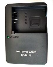 Camera battery Charger For Fujifilm FinePix fuji BC-W126 BCW126  X-Pro1 HS30