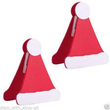 Decorazioni natalizie rosso Natale per la tavola