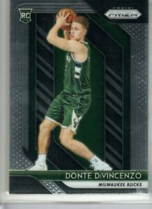 DONTE DiVINCENZO 2018-19 Panini PRIZM ROOKIE Milwaukee Bucks #246 RC
