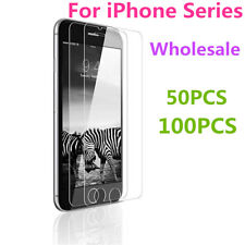 Wholesale Lot Tempered Glass Screen Protector For iPhone 11 Pro Max XR 6S 5S X 8