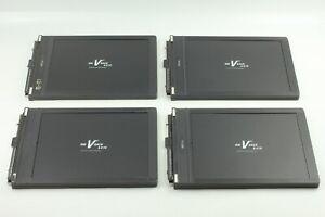 【Exc+5 x4】 Fidelity Elite 8x10 Large Format Cut Film Holder RW V Back from Japan