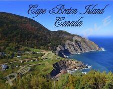 Canada - CAPE BRETON ISLAND - Travel Souvenir Flexible Fridge Magnet