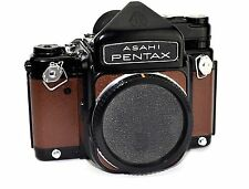 ASAHI Pentax 67 6X7 Replacement Cover, Laser Cut - Recycled Leather