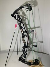 Hoyt Carbon Defiant 34 Compound Bow BLACK 70-80Lb Draw 29""