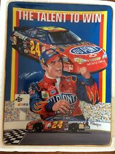 """Nascar #24 JEFF GORDON """"The Talent to Win""""  Plate by The Hamilton Collection"""