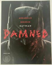 BATMAN DAMNED 1 Uncensored Edition 1st Print / 9.0 NEAR MINT / DC Comics 2018