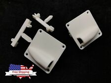 1pairs Nylon Wing Servo Mount Servo Protector for 6-9g Servos 40x40mm 1.5x1.5""