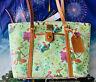 2021 Disney Parks Dooney & Bourke Robin Hood Artist Series Tote Purse Bag Exact