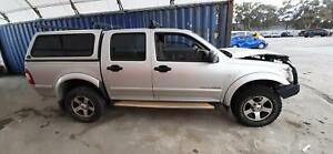 CANOPY, HOLDEN RODEO, DUAL CAB, HARD COVER, RA, 03/03-07/08