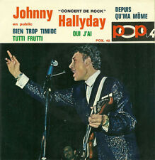 Johnny Hallyday	Concert De Rock En Public  replica 	CD SINGLE	Pop 4		France	Neuf