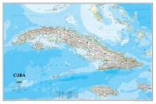 "Cuba Map Poster Mini 11""X17"""