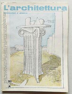 L'architettura cronache e storia n. 283 1979 Speciale Pietro Fenoglio Liberty