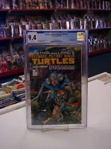 Teenage Mutant Ninja Turtles #8 (Mirage, 1986) CGC Graded 9.4 ~ TMNT ~ WP