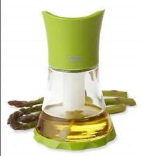 Green GLASS Vase Oil Mister (or Vinegar) by Kuhn Rikon of Switzerland (NIB)