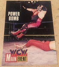 WCW Main Event 1995 Mastodon Big Van Vader Power Bomb #58 Trading Card, NJPW WWF