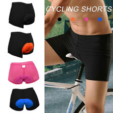 Men/Women Cycling Shorts Bike Bicycle Underwear Silicone Gel Pad US STCOK