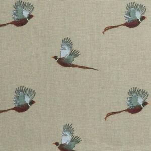 Sophie Allport - Pheasant - Stone Green - Fabric - 40cm x 150cm - Face Masks